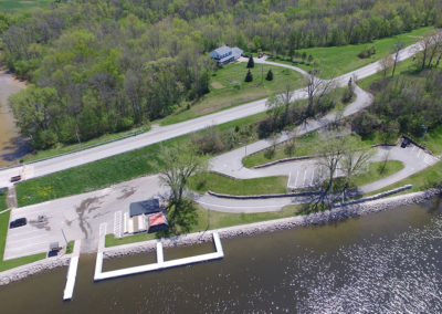 boat launch, wrightstown river trail, wisconsin, fox river, Village of Wrightstown, brown county, outagamie county